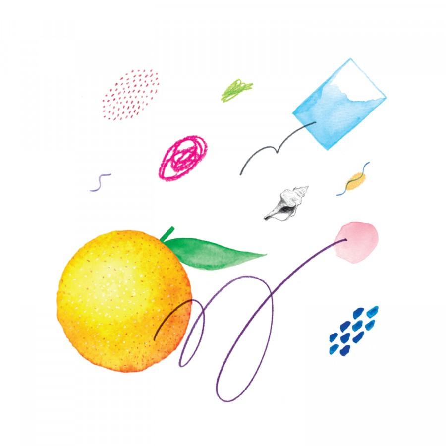 Oranges b/w Daniels