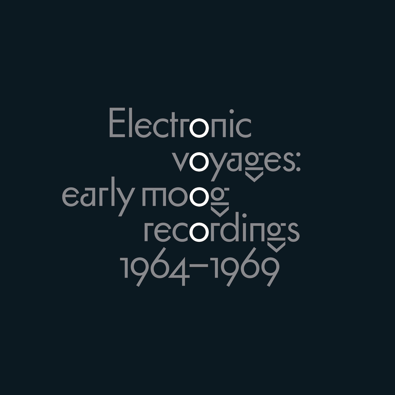 Electronic Voyages: Early Moog Recordings 1964-1969