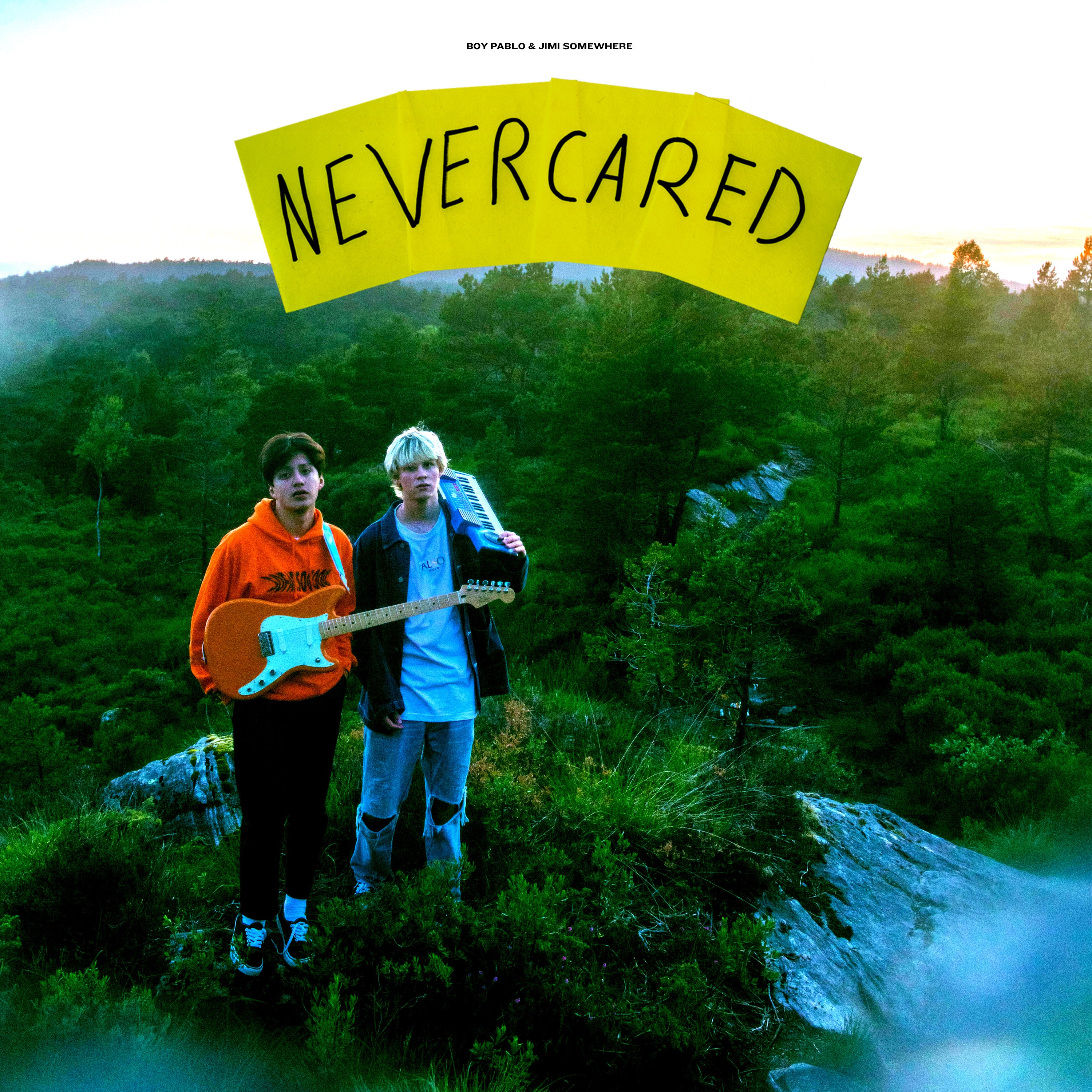 """Never Cared ft. Jimi Somewhere"" - Single"